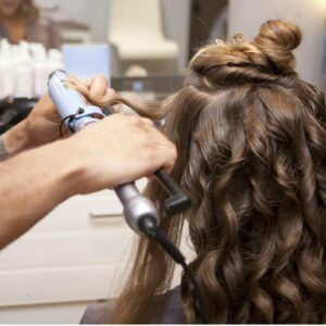 hair curling - Adara
